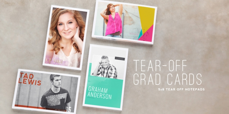aTear-Off Notecards Grad Templates E