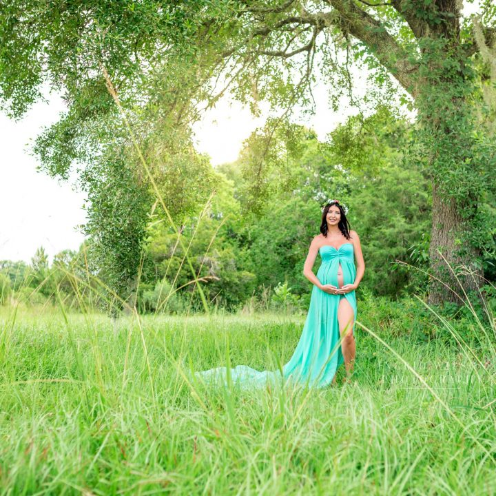 FLEMING ISLAND, FL MATERNITY SESSION | WAITING ON A BOY