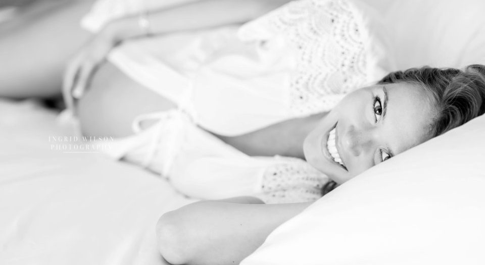 IN-HOME MATERNITY SESSION | Ingrid Wilson Photography | Maternity Photographer