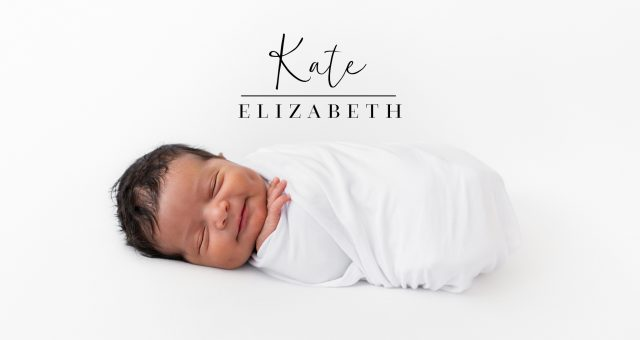 NEWBORN PHOTOGRAPHY | Introducing Kate